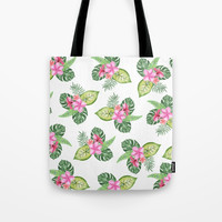 tropical Tote Bag by Sylvia Cook Photography