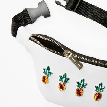 Free People Pineapple Pocket Belt