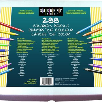 288ct Colored Pencil Best Buy Assortment - CASE OF 8