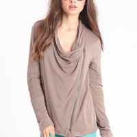 Influence Zippered Jacket By Gentle Fawn - $72.50 : ThreadSence, Women's Indie & Bohemian Clothing, Dresses, & Accessories