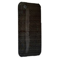 Moody Dark Abstract Pattern iPhone 3 Covers