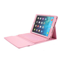 Luxury split Wireless Bluetooth Keyboard leather stand Case for ipad5 ipad air