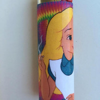 Alice in Wonderland custom BIC lighter