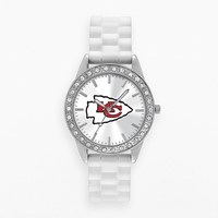 Game Time Watch - Women's Frost Series Kansas City Chiefs Silicone (White)