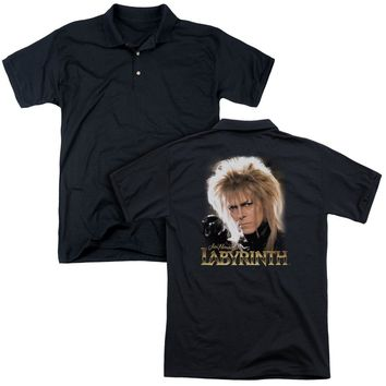 Labyrinth - Jareth (Back Print) Mens Regular Fit Polo