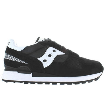 Saucony Shadow Original - Black/White Suede/Nylon Sneaker
