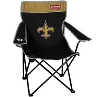 NFL New Orleans Saints Coleman Folding Chair With Carrying Case