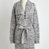 Long Long Sleeve The Lapel of Luxury Cardigan