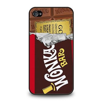 GOLDEN TICKET CHOCOLATE WONKA BAR iPhone 4 / 4S Case Cover