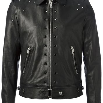 Saint Laurent Studded Leather Jacket
