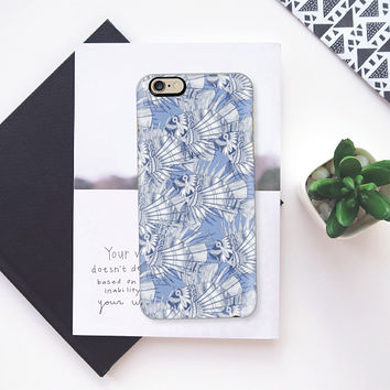 fish mirage blue iPhone 6s case by Sharon Turner | Casetify