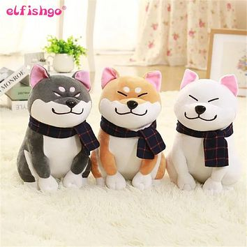 Shiba Inu Dog Japanese Doll Toy Doge Dog Plush Cute Cosplay Gift 25cm