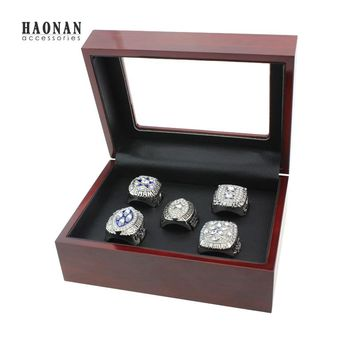 Drop Shipping 5PC/SET 1971 1977 1992 1993 1995 Dallas Cowboys Super Bowl Replica Championship Rings Set