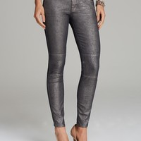 MARC BY MARC JACOBS Jeans - Seamed Cigarette in Gunmetal | Bloomingdale's