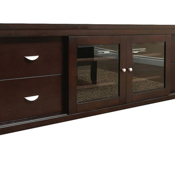 "Landsford 72"" Media Console, Espresso, Media & TV"