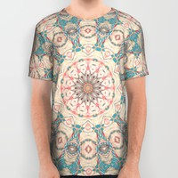 Jungle Kaleidoscope 3 All Over Print Shirt by ALLY COXON | Society6