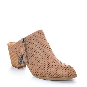 Tan Chloe Report Mule Booties