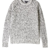 Veer Zabra Mohair Popcorn Jumper by Theory