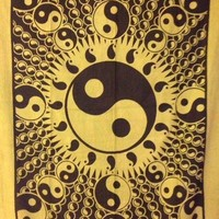 Yin Yang Window Tapestry  - Mellow Mood