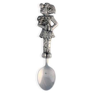 Pewter Circus Clown Baby Spoon