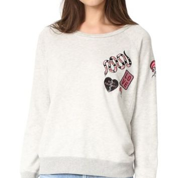 Patches Pullover