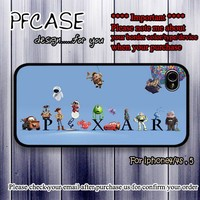 Character of Pixar : Case For Iphone 4/4s ,5 /Samsung S2,3,4
