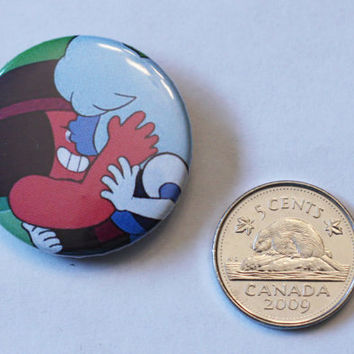 "Ruby and Sapphire kiss 1.25"" button"