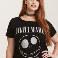 Nightmare Before Christmas Rock Crew Tee