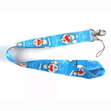 Brand New Japan Anime Doraemon Blue Lanyard