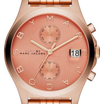 Women's MARC BY MARC JACOBS 'Fergus' Chronograph Bracelet Watch, 38mm