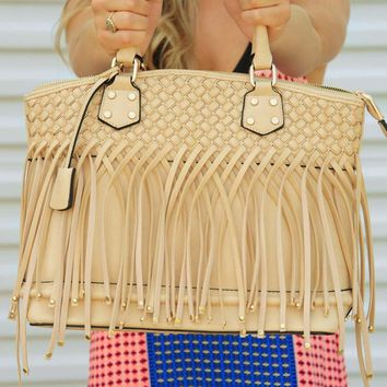 Put My Heart Back Together Purse: Tan
