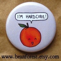 i'm hardcore by beanforest on Etsy