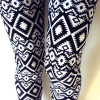 Tribal  Leggings Aztec Pants Yoga Fitness Workout Gym Tights Streetwear Women Girls Clothing Fashion Yoga Life Style