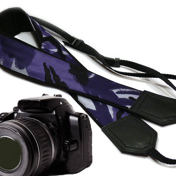 Original design Camera Strap. military camouflage design, DSLR / SLR Camera Strap.  For Sony, canon, nikon, panasonic, fuji and other cameras.
