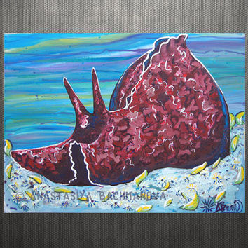 California Sea Hare Original Painting