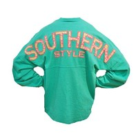 Palmetto Moon | Southern Style Bow Tie Long Sleeve Spirit Jersey