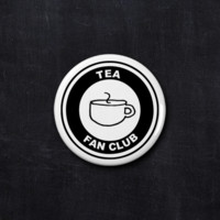 Tea fan club button
