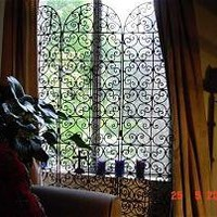 Wrought Iron Screen | Badia Design