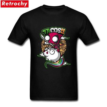 Vintage Graphic T Shirt Men Hip Hop Deadpool Unicorn Shirts Homme Short Sleeve O-neck Tees Large and Tall Size