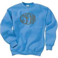 Pigment Dyed Youth Crew Neck Sweatshirt