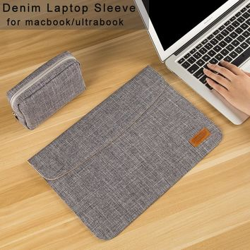 13 15 inch Laptop Sleeve Bag for Macbook touchbar 13 air/pro Laptop Case Cover 14 15.6 inch for Asus/Lenovo/Dell/HP/Acer 13.3""