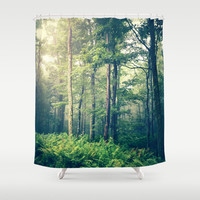 Inner Peace Shower Curtain by Olivia Joy StClaire