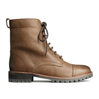 H&M - Leather Boots - Brown - Ladies