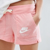 Nike Vintage Shorts In Coral at asos.com