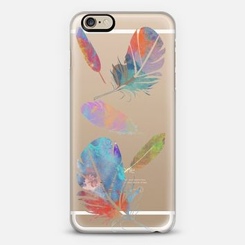 Feather Fall iPhone 6 case by Allison Reich | Casetify