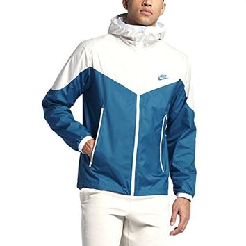 Nike Sportswear Windrunner Men's Jacket, Light Bone/Industrial Blue, Medium