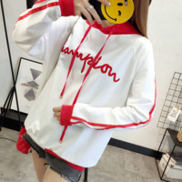 Casual Loose Hooded Long-Sleeved Sweater