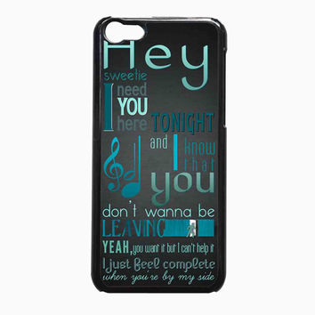 A Day to Remember Quote FOR iPhone 5C CASE *NP*