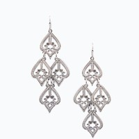 ShopSosie Style : Amaryllis Earrings in Silver