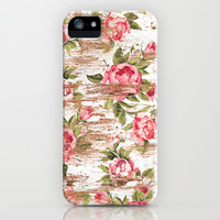 Eco Love Pattern iPhone & iPod Case by Maximilian San